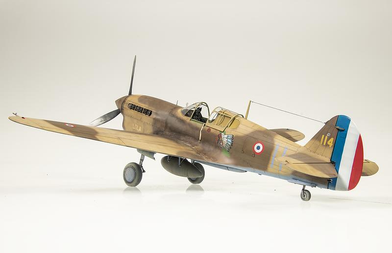 1/32 Trumpeter P-40F Warhawk