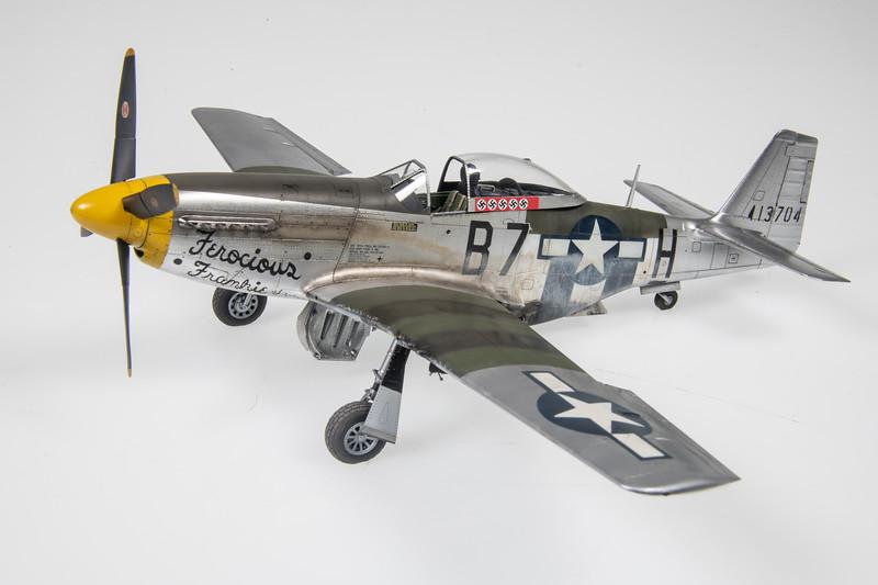 "1/48 Eduard P-51D-5-NA Mustang   ""Ferocious Frankie"""