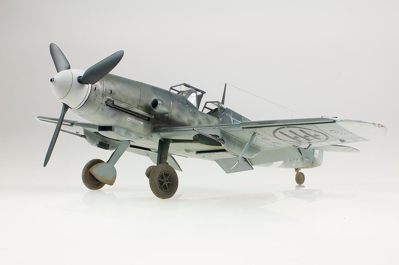 1/32 Hasegawa Bf 109G-4/R6