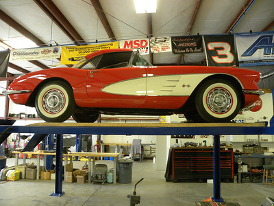 1959 Corvette Two Tops