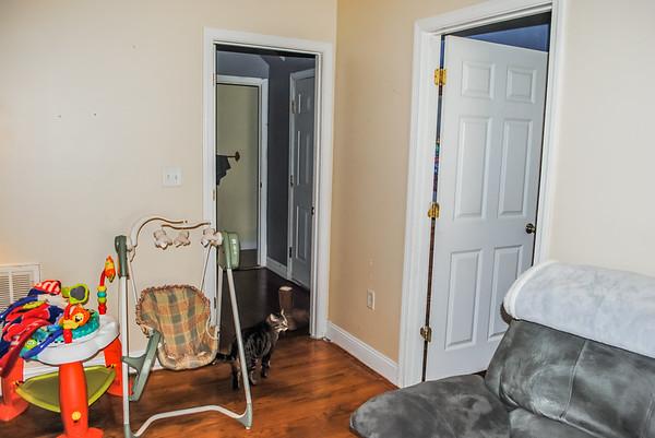 1st floor 1/2 bath (near front door)