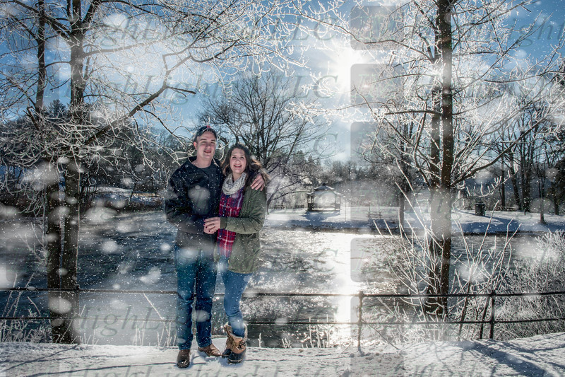 Hope and Eric Ice and Snow (1 of 1)