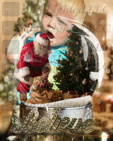Santa globe and background wwdc