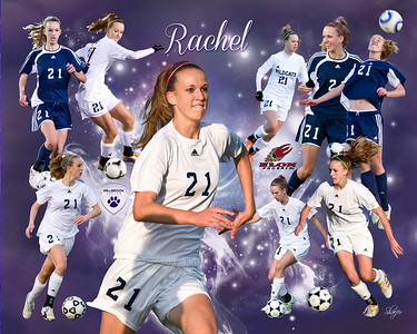 Rachel Hallman Soccer 2013