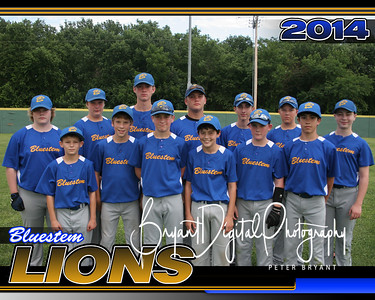 Bluestem Lions 14U Team Picture