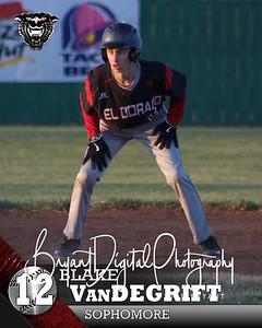 #12 Blake VanDeGrift