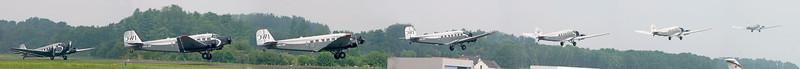 Ju 52 starting