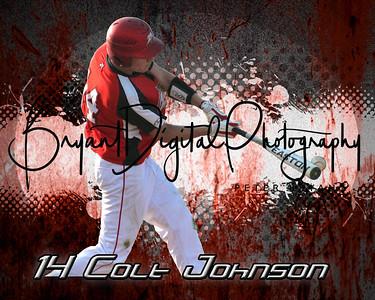 Colten Johnson Grunge Poster