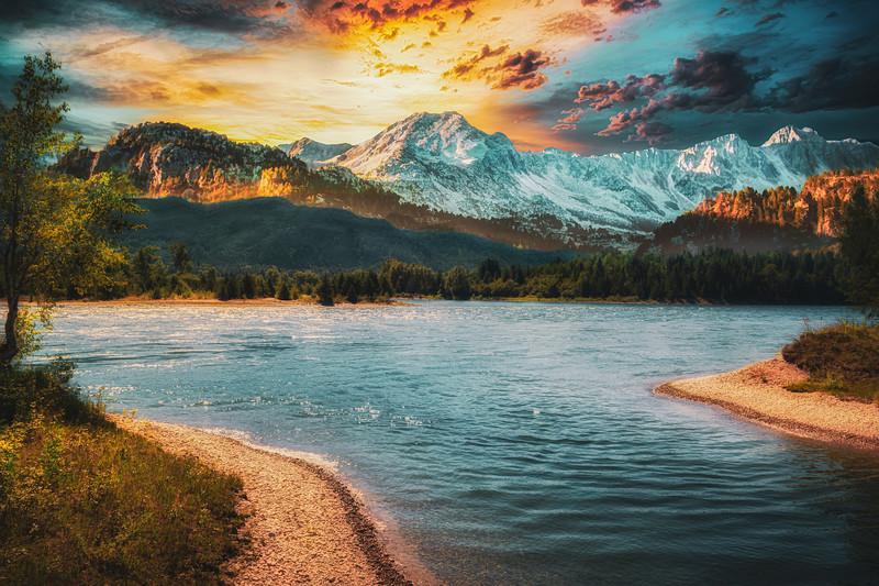 Millennium Mountain Sunset