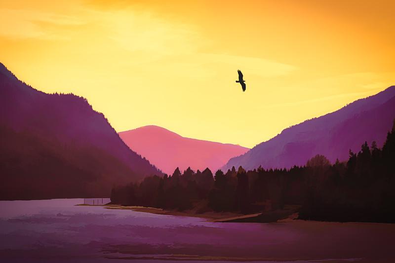 A Pastel Sunset