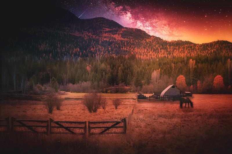 Pass Creek Under Stars