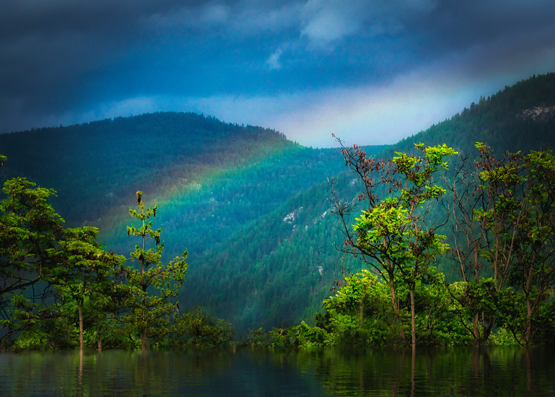 Rainbow and Reflections