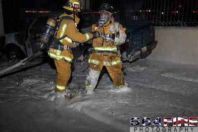120826 Compton Auto Fire-120