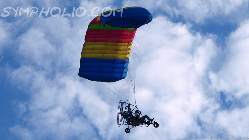 Paraplane (or flying lawnmower as I like to call it)