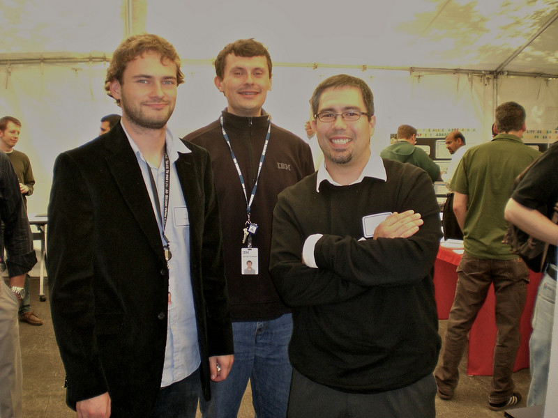 Michael, Michael, and Tom at the 2008 West Coast TechConnect in Beaverton, OR.