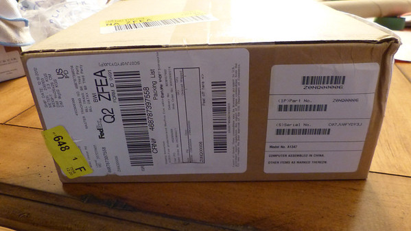 2012 - 12 - Mac Mini Unbox