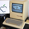 Apple Mac 128k from my collection. The first Mac made in 1984. With all accessories.