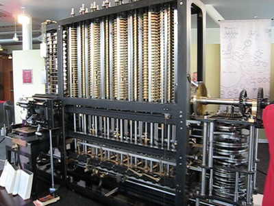 Front of difference engine