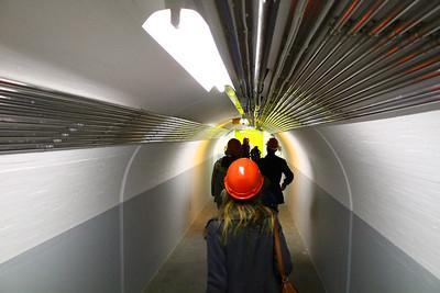 CERN Entering the ATLAS experiment