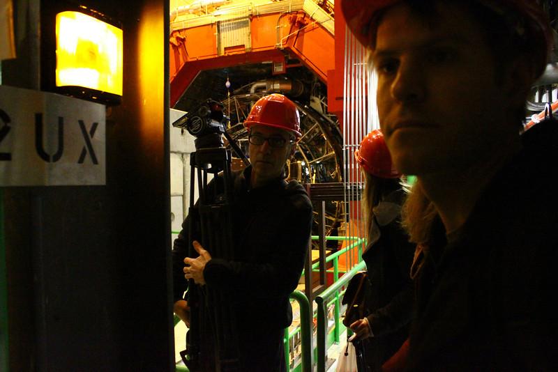 Crew entering the ALICE.