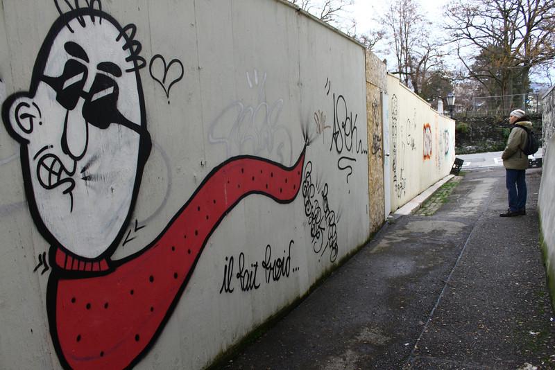 Graffiti in Geneva
