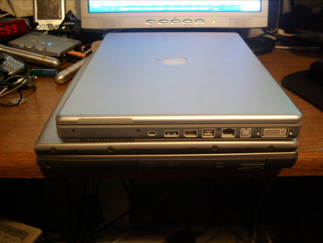 some powerbook on dell action...