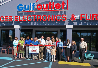 Gulf Outlet Grand Opening