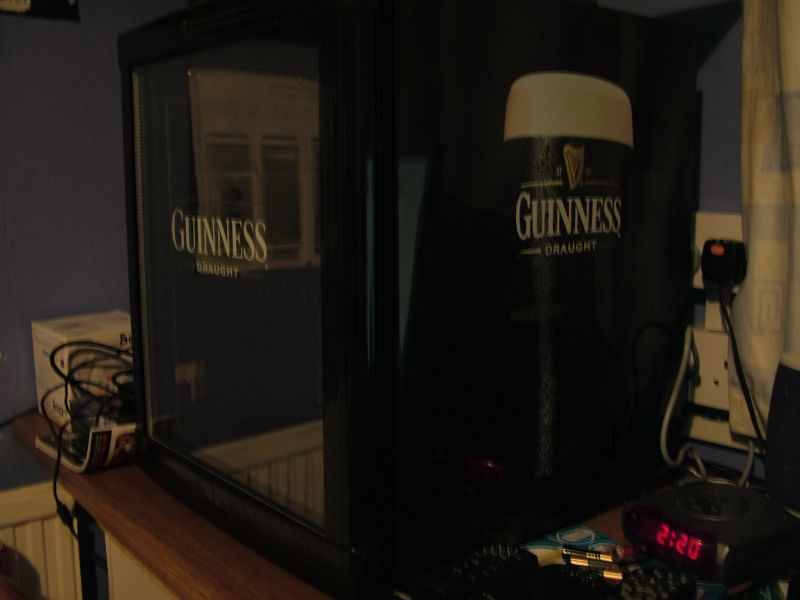 My Guinness fridge!