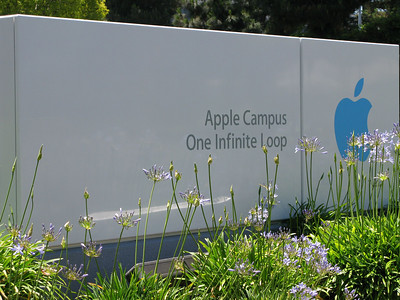 I visited the Mothership:<br />1 Infinite Loop, Cupertino, California