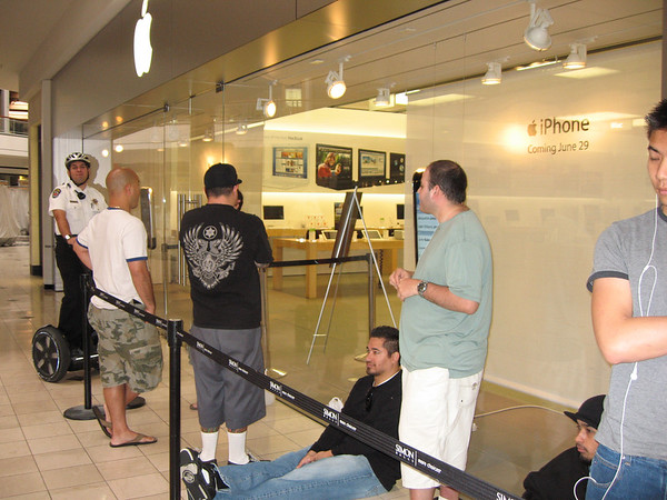iPhone Friday - 6/29/2007