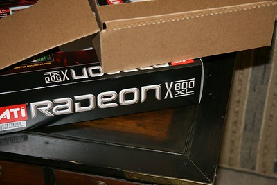 Box for the Radeon X800 XL