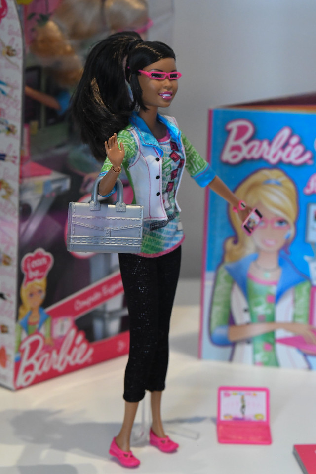 More Barbie!