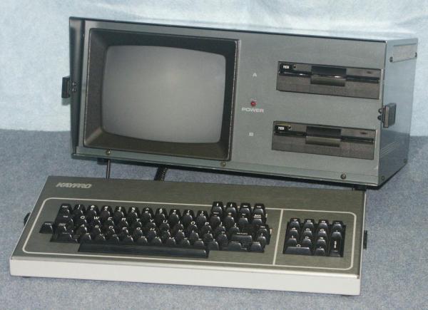The KayPro-4...