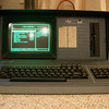 The KAYPRO-10 in action. It had a 10 MEGAbyte HARDDISK!!<br /> For that time it was AWESOME!!<br /> It had a nice menu, so that you just typed a numberkey, and the corresponding menu-entry would start.<br /> That was sophistication in the early eighties.<br /> What a contrast with today (2012) where you just yell to your iPhone 4s, and get what you want...