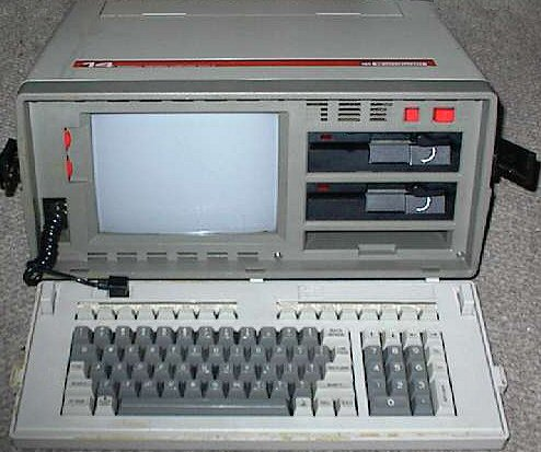 "The Bondwell-14 (1984). The Bondwell-12 was a ""luggable"" portable computer with a built-in 9 inch (23 cm) monochrome CRT display, equipped with 128 kB of internal memory, CP/M 3.0 and two double-sided, double density, 5.25 inch floppy disk drives (360 kiB).I got it second hand, and I wanted it because it was running CP/M 3.0. But I didn't like the orange display, I prefer green. Well, I sold it to another guy."