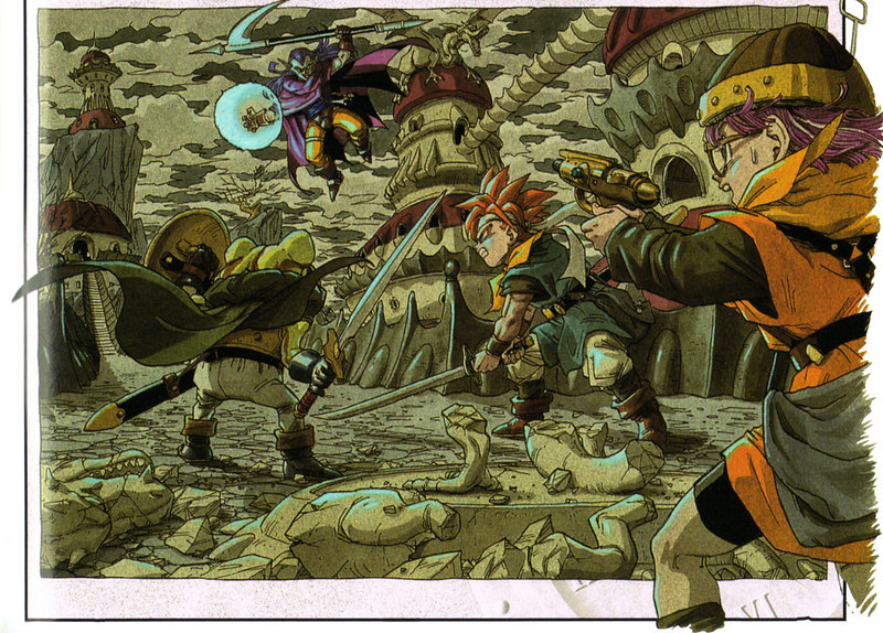 Hellyeah Chrono Trigger!  Of course, this is before you decide to bring Magus into the group.....OR NOT!