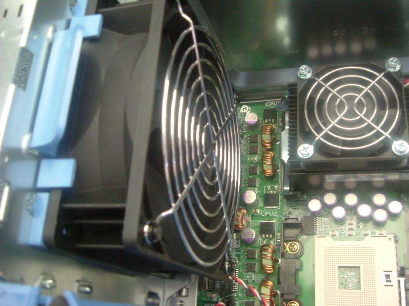 PowerEdge 1600SC Big fan on back