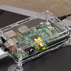 Raspberry Pi in a clear case - CUPS print server attached to HP LaserJet 1012