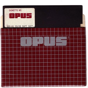 OPUS 520-01 - disk and sleeve front