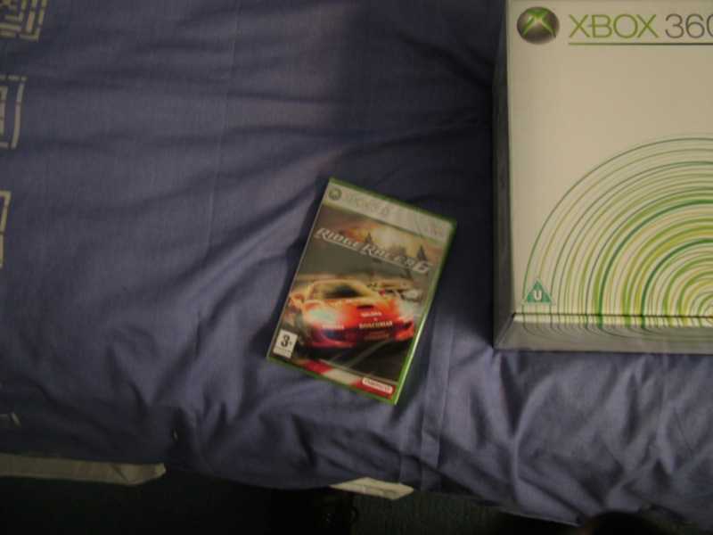 ridger racer 6 and the xbox360