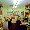 Both Rod Day & Craig Harris in front of their PC computors in Buffalo office Daniels Street.