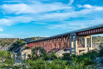 The Pecos River Bridge, Comstock Texas