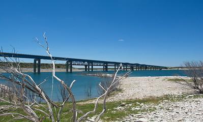 US 90 Bridge over Lake Amistad, Del Rio, Texas