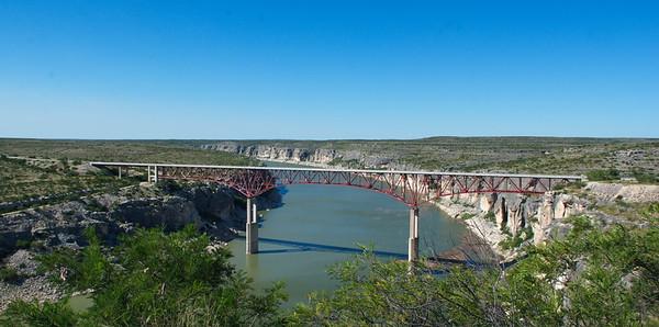 Comstock, Tx, Seminole Canyon & the Pecos River  6-28-17