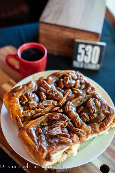 Savory Cafe Cinnamon Sticky Buns from Village Bakery in Davis