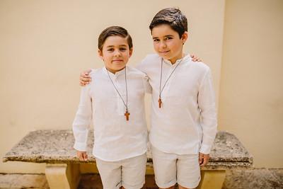 Comunión Alvaro Y Juan