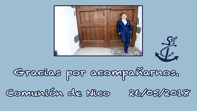 Comunión de Nico