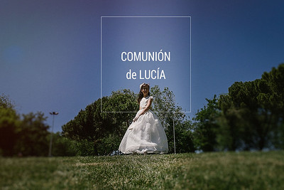 Comunión de Lucía