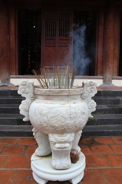 Incense and smoke