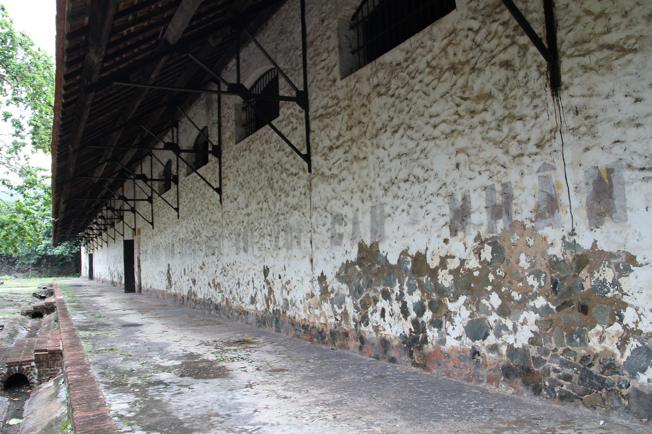 This block housed the large cells where prisoners were usually kept